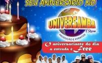 Venha Comemorar seu aniversario no Universamba ( Paparicco & Movimento )